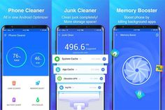 Cum se curăţă un Android ce merge greu Clean Phone, Storage Spaces, All In One, Android, Cleaning, App, Apps