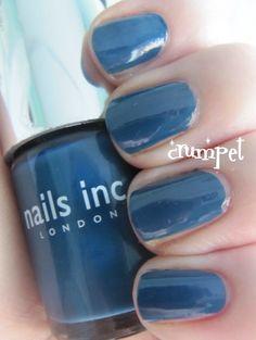 The Crumpet: Nails Inc Cambridge Circus, Denim and Portland Place