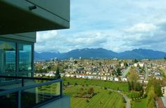 Looking north from Brentwood area of Burnaby: You don't get 22nd floor views from  anywhere in Victoria.