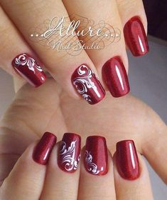 Fabulous Winter Nail Art