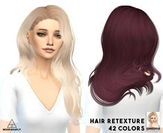 Sintinklia's hair retextures at Miss Paraply via Sims 4 Updates