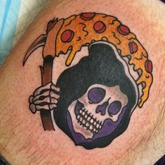 OMG! Brooke this is our pizza tattoo we have to get!