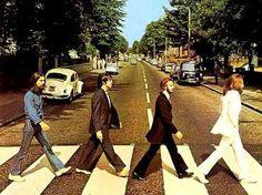 A capa do último disco gravado pelos Beatles, Abbey Road que chegou as lojas em 1969. - All rights reserved