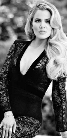 Khloe Kardashian: Jumpsuit – Balmain  Bracelet – Cartier