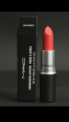 "MAC ""Crosswires"" Lipstick: I purchased this lipstick for a pageant, and this coral color shines like crazy on stage! This retails for $14.00."
