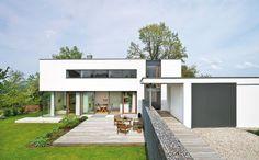 Die 147 Besten Bilder Von Flachdach Haus Flat Roof Contemporary