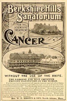 Berkshire Hills Sanatorium ad