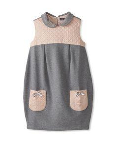 Blumarine Kid's Quilted Sleeveless Dress at MYHABIT