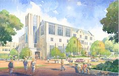The expansion of the Ugrad building began in spring It is named Hodge Hall to recognize a multimillion dollar gift from Kelley alum James Hodge. Indiana University, The Expanse, Construction, School, Painting, Business, Spring, Building, Gift