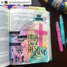 "Check out this remarkable creative worship by Nichole @goosekeeperphoto ! If you're not following her you should! Repost with @repostapp.  ""Oh death! where is your sting? Oh hell! Where is your victory? Oh church! Come stand in the light!  Our God is not dead He's alive. He's alive!"" When I was waking up this morning my eyes didn't even get a chance to open before this praise came out over and over again!  My heart is full of hope and gratitude.  Sunday isn't coming IT IS HERE!  Praise the…"