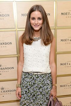 """If you want to stick with being a brunette but want to mix up your look—or go a little darker if you're a blonde—opt for a light chestnut brown, like Olivia Palermo's shade. Look for terms like """"light chestnut brown"""" or """"medium brown with golden tones"""" on at-home box kits."""