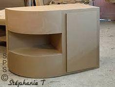 """Résultat de recherche d'images pour """"meuble en carton patron gratuit"""""""