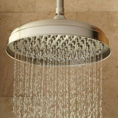 Lambert Rainfall Nozzle Shower Head With Extended Arm - Shower Heads - Bathroom