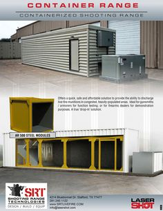 Container Ranges - Shooting Range Technologies™ by Laser Shot, Inc.