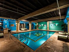 underground swimming pool - Google Search