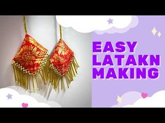 Cd Crafts, Embroidery Stitches Tutorial, Krishna Painting, My Sewing Room, Dressers, Blouse Designs, Knot, Crochet Earrings, Sewing Patterns