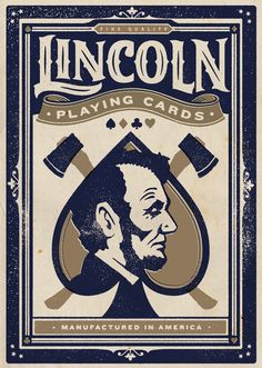 Lincoln Playing Cards by David M. Smith