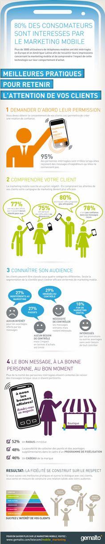 5 bonnes pratiques du #marketing #mobile en une #infographie - My Marketing Mobile