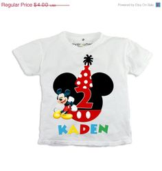 25% OFF Digital Mickey Mouse Printable iron on transfer T-shirt CLUBHOUSE on Etsy, $3.00