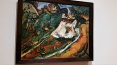 Chaim Soutine Artist Painting The Old Mill1922-23 Oil On Canvas Moma Museum Of Modern Art New York