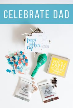 Send Dad a party in the mail for Father's Day. Best Father's Day gift idea to make him feel loved! Love Gifts, Gifts For Him, Best Gifts, Cool Fathers Day Gifts, Party In A Box, Good Good Father, Cheer Up, Happy Father, Gift Baskets