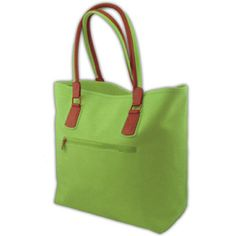 Lime Green Tote