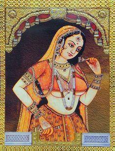 Rajput Princess (Reprint on Paper - Unframed))