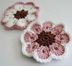 South African Veld Flower I just made this today 5-30-15. It is easy to make. I want to make it with crochet thread too. Fun to make and so many options for using them too!