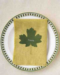 See our Rubber-Stamped Place Cards galleries