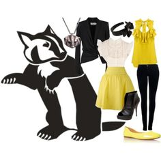 hufflepuff outfit! note to self: invest in more yellow