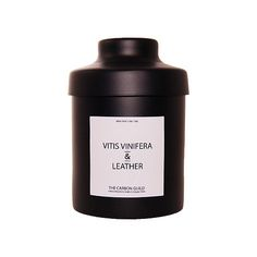 Vitis Vinifera & Leather Scented Candle from The Carbon Guild.