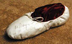 Mikhail Baryshnikov's Ballet Slipper