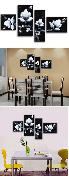 Black Canvas Paintings On Pinterest Canvas Paintings Black Canvas And Mandala Painting