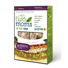Two Moms In The Raw - Organic Gluten Free Gojiberry Granola