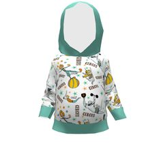 Brindille and Twig Toddler Hoodie made with Spoonflower designs on Sprout Patterns. Brindille, Spoonflower, Hoodies, Patterns, Fun, Kids, Design, Fashion, Fin Fun
