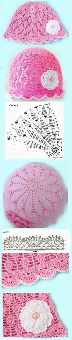Most up-to-date Absolutely Free Crochet Hat summer Ideas It truly is Nation's Regular sewing thirty days inside September. Simply just which is curtains ca Bonnet Crochet, Crochet Cap, Crochet Girls, Crochet Baby Clothes, Crochet Baby Hats, Crochet Beanie, Love Crochet, Crochet For Kids, Diy Crochet