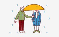 Stina Löfgren y sus consejos ilustrados para ayudar a personas que sufren