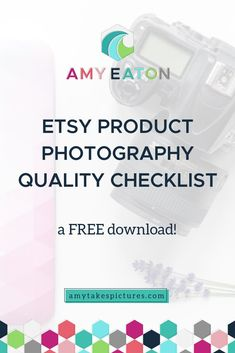 "The Etsy Product Photography Quality Checklist is just what you need to make sure your product photos always look fantastic.  Having great product photos is  key to your success as a handmade seller. With these product photography tips, you'll have customers hitting that checkout button faster than you can say ""cha-ching""! Etsy Business, Craft Business, Creative Business, Online Business, Photography Tips For Beginners, Product Photography Tips, Photography Ideas, Sell On Etsy, Handmade Shop"