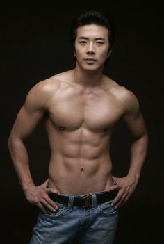"""Kwon Sang-woo, the most visible example of the so-called """"mom-zzang"""" (slang for """"great body"""") movement, started his career as a fashion model in the late 1990s. Description from iheartkapuso.blogspot.com. I searched for this on bing.com/images"""