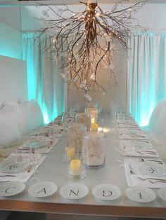 DIY Tree branch chandelier ideas - All For Decoration Wine Bottle Chandelier, Driftwood Chandelier, Branch Chandelier, Art Deco Chandelier, Outdoor Chandelier, Chandelier Ideas, Chandelier Lighting, Outdoor Lighting, Decorative Chandelier