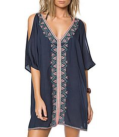 ONeill Cosa Cold Shoulder Tunic CoverUp #Dillards