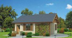 Projekt domu HAWANA dom letniskowy