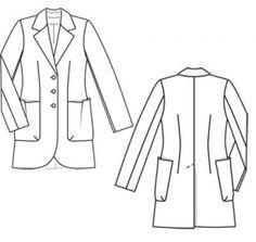11/2011  Шерстяная ткань сирсакер в поперечную полоску 2,65 м шириной 140 см для всех размеров; подкладочная ткань 1,65 м шириной 140 см;