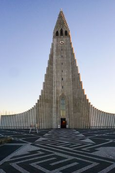 Hallgrimskirkja is one of the most popular sights in Reykjavik and one of my favorite things to do in the city! Check out my list of 10 free things to do in Reykjavik + download my FREE guide book to 7 budget friendly restaurants in Reykjavik! | Life With a View