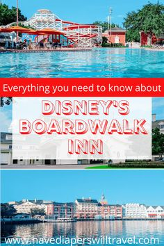 Everything you need to know about Disney's BoardWalk Inn including room options, dining, amenities, and why it's one of the best deluxe properties at Walt Disney World Disney Vacation Club, Walt Disney World Vacations, Disney Resorts, Swan And Dolphin Resort, Disney World Tips And Tricks, Hotel Reviews, Great Places, Dining
