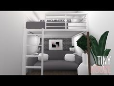 I am in love, this house is exactly the way I planned for it to turn out. Plus this house is super cheap. Tiny House Bedroom, Bedroom House Plans, House Rooms, Home Bedroom, Tiny Bedrooms, Teenage Bedrooms, Guest Bedrooms, Teen Bedroom, Tiny House Layout