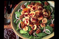 Banana and Spinach Salad