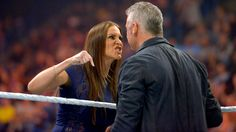 Though The Authority is no longer presiding over the WWE roster, Shane and Stephanie McMahon are providing an authoritative reign as a collective unit on Monday Night RAW. Vince McMahon made the . Stephanie Mcmahon, Shane Mcmahon, Brock Lesnar, Wrestling News, Taking Shape, Wwe News, Ten, Finals, How To Plan