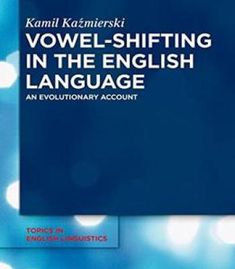 Vowel-Shifting In The English Language PDF