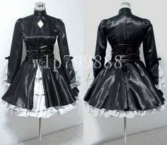 Fate Stay Night Saber Lolita Ver Cosplay Costume Dress | eBay